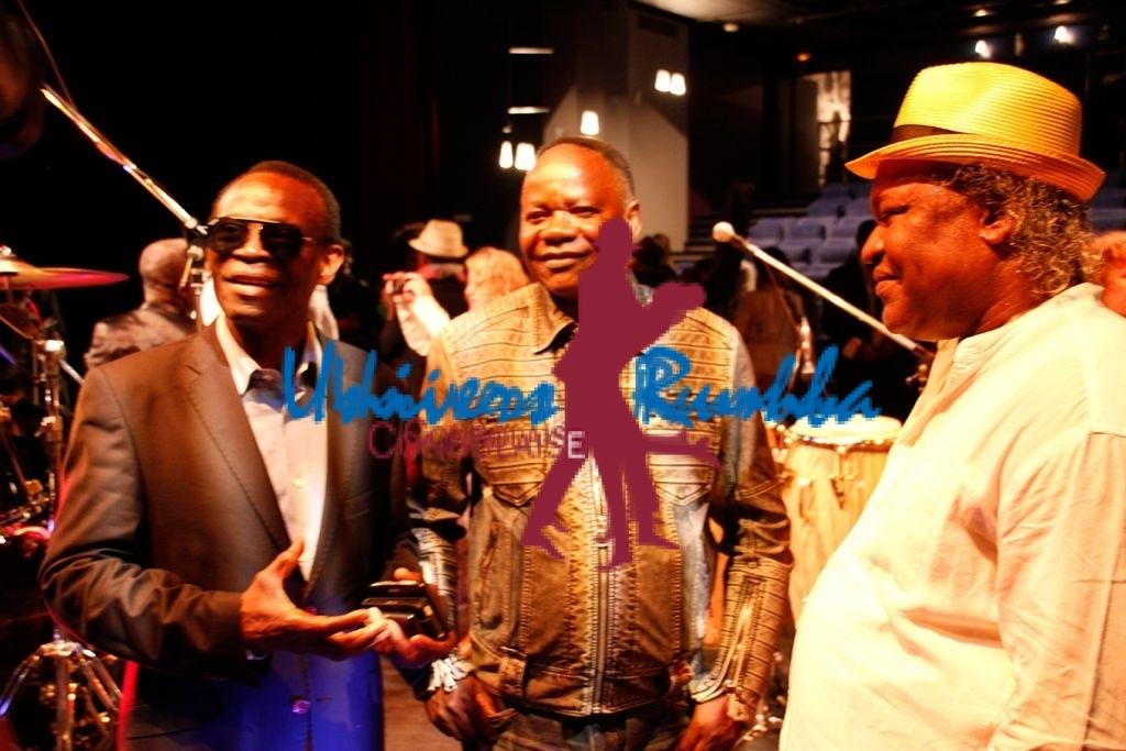 Seskain Molenga, Kanta Nyboma et Barly Baruti - Copyright Univers Rumba Congolaise