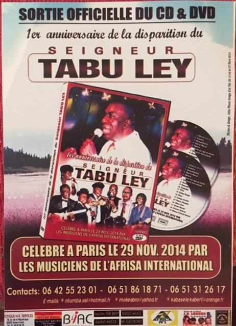 Les Retrouvailles des anciens musiciens de l'Afrisa International