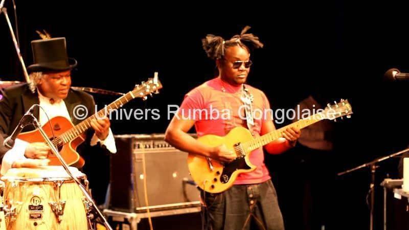 Barly Baruti et Olivier Tschimanga au concert. Copyright Univers Rumba Congolaise