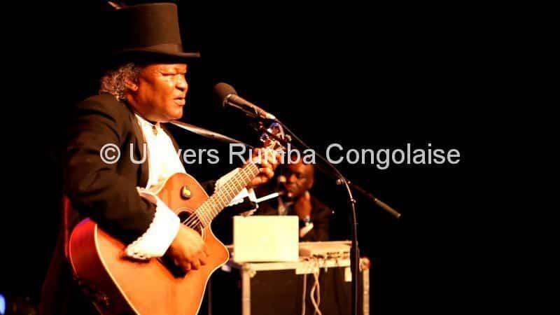 Barly Baruti à son concert du 24 juin 2015 au Centre Wallonie Bruxelles à Paris - Copyright Univers Rumba Congolaise
