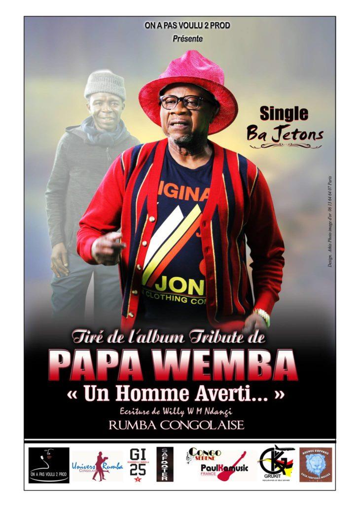 Single Ba Jetons - Papa WEMBA