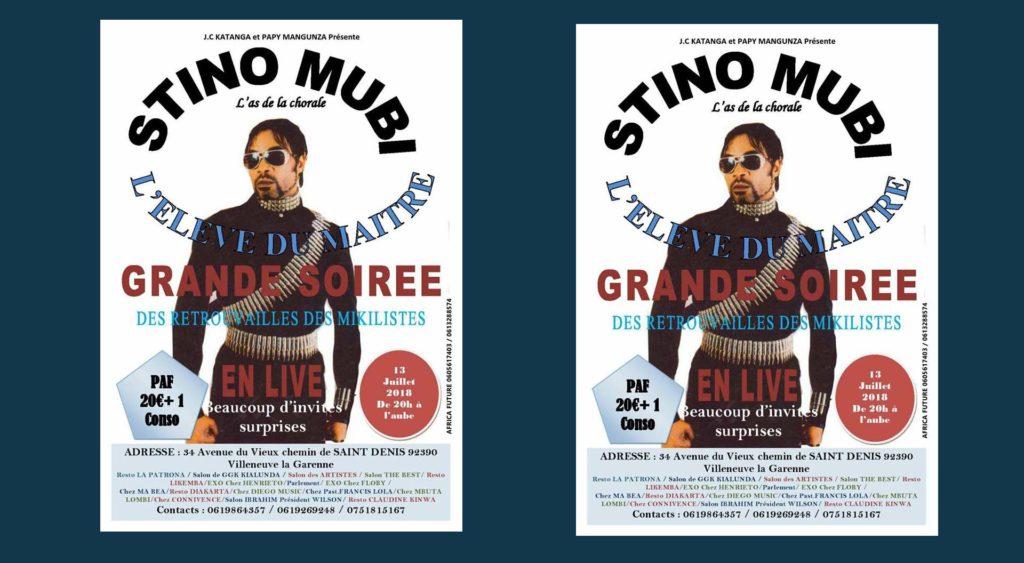 Stino MUBI, Grande Soirée Des Retrouvailles des Mikilistes EN LIVE
