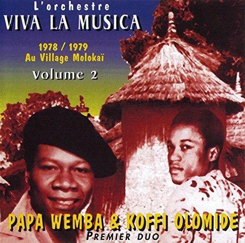 viva la musica 1978 1979 au village molokai vol 2 univers rumba congolaise. Black Bedroom Furniture Sets. Home Design Ideas
